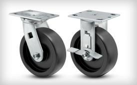 E-Line 2 Inch Wide Polypropylene HD Wheel Casters